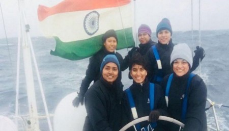 Indian Navy's all-women sailing team crosses Cape Horn