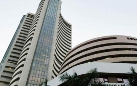 Sensex rises over 130 points, Nifty regains 10,500-mark