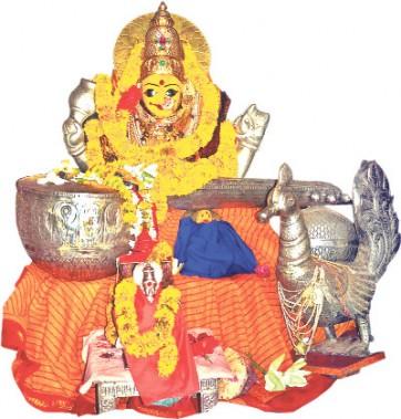 బాసరలో వైభవంగా దేవీ నవరాత్రి ఉత్సవాలు