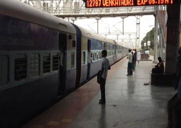 వెంకటాద్రి ఎక్స్ప్రెస్ రైల్లో చోరీ